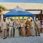 """Monitoring Gerakan Maskerisasi di Pasar Karang Sukun-Mataram"""
