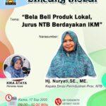 Bela Beli Produk Lokal, Jurus NTB Berdayakan IKM Lokal