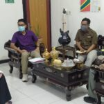 Kembangkan IKM NTB, Geopark Rinjani Bersilaturahmi dengan Kadisperin NTB