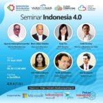Webinar Industri Dengan Tema Seminar Indonesia 4.0