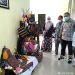 Inisiasi Kerajinan Dari Kulit, Disperin NTB Kunjungi IKM Kerajinan Kulit Di Kota Bima