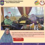Silaturahmi Antara Wakil Ketua DPRD I NTB Dengan Kepala Disperin NTB, Sepakat Kembangkan Bawang Bima