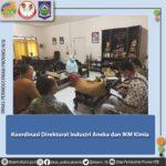 Koordinasi Direktorat Industri Aneka dan IKM Kimia, Sandang dan Kerajinan Kementerian Perindustrian dengan Disperin NTB terkait Kerajinan Lokal NTB.