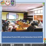 Optimalisasi Produk IKM untuk Kebutuhan Hotel di NTB