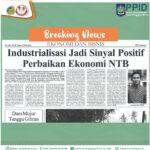 Industrialisasi Jadi Sinyal Positif Perbaikan Ekonomi NTB